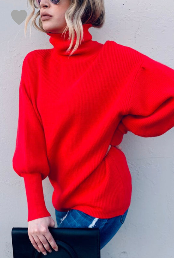 Classic Red Sweater