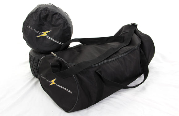 Wheel Bag & Wheel Cover Combo karting  (LRG002 - LRG001)