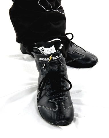 Race Boots SFI - Black leather - SFI 3.3/5  (LRG004SFI)