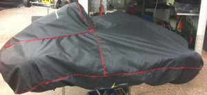 Kart Cover - Black water proof with intergrated storage bag  LRG591
