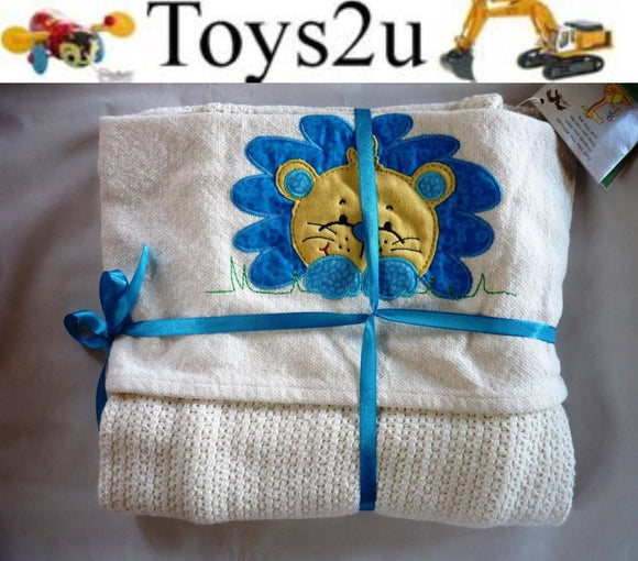 BABY BLANKET 100% COTTON GREAT QUALITY