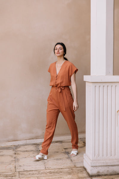 wine jumpsuit