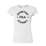 FRA - Frankfurt Germany Womens Shirt