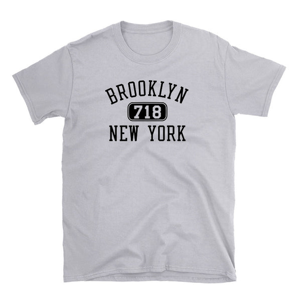 Brooklyn 718 Area Code T-Shirt