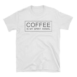coffee is my spirit animal shirt