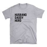 husband daddy hero shirt