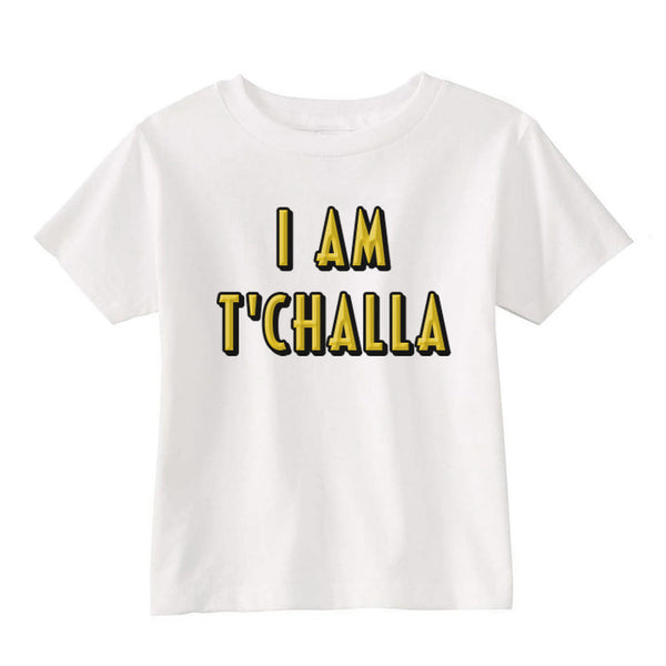 i am tchalla toddler shirt