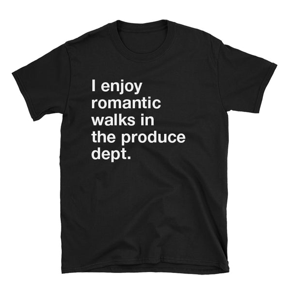 Romantic Walks - Vegan Vegetarian Tee
