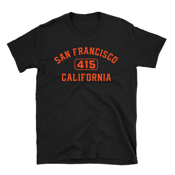 San Francisco 415 Area Code T-Shirt