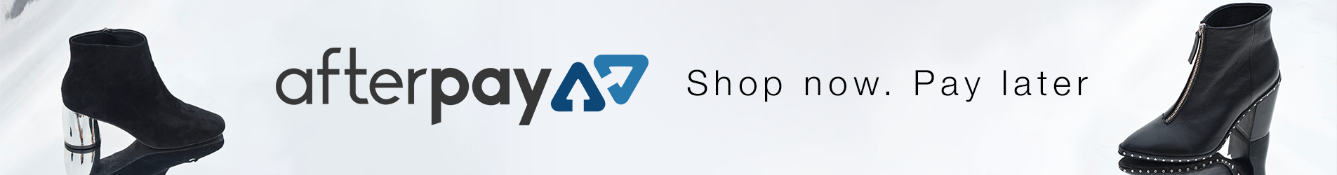 afterpay - shop now - pay later