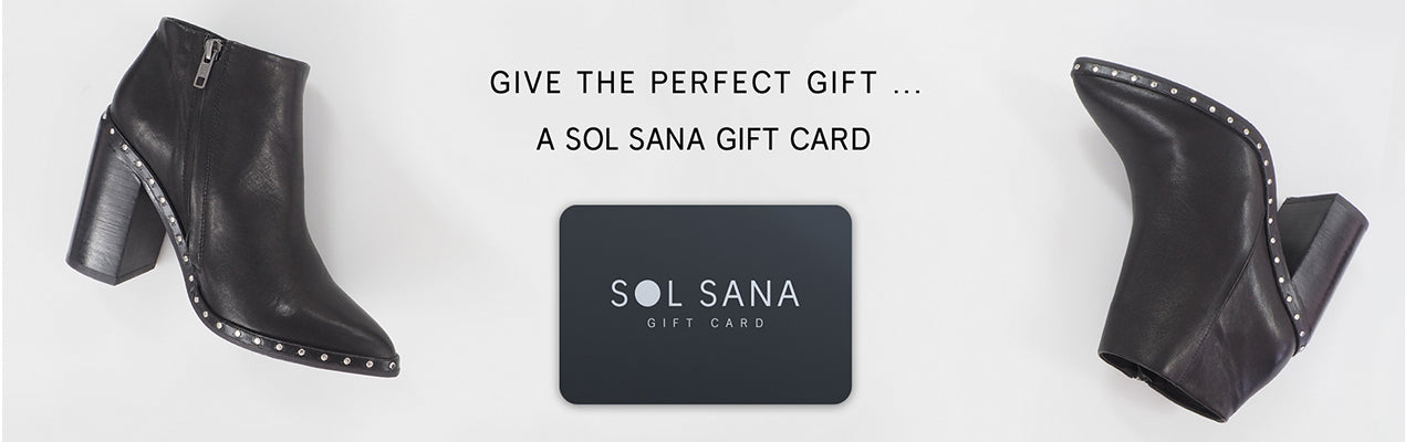 GIVE THE PERFECT GIFT... SOL SANA GIFT CARD