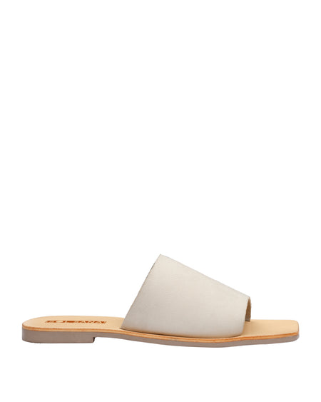Mila Slide Off White Nubuck