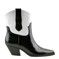 Allister Black/White Boots