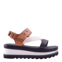 Bimba Wedge Tan