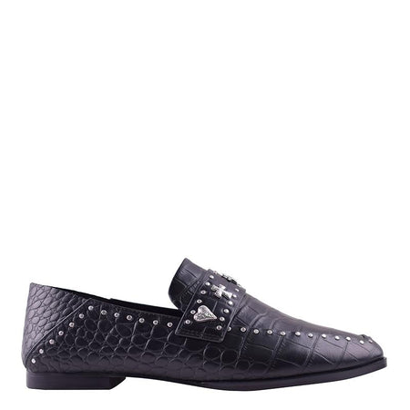 Clide Loafer Black Croc