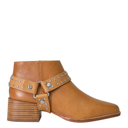 Eddie Boot III Tan Stud