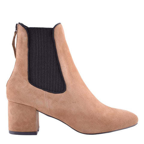 Ember Tobacco Suede Boots - Sol Sana Australia