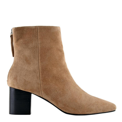 Florence Boot Tobacco Suede - Sol Sana Australia