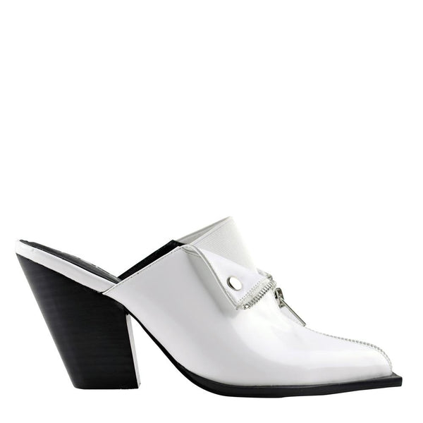 Isabella White Mules