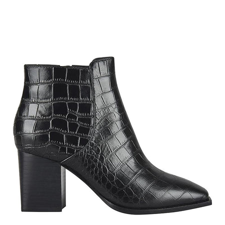 Jerome Boot Black Croc