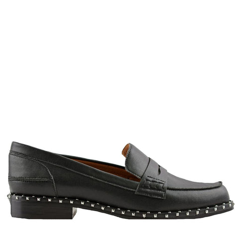 Lloyd Black Loafers - Sol Sana Australia