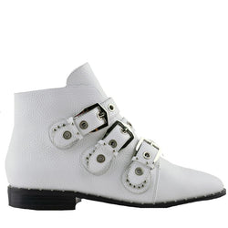 Maxwell White Boots