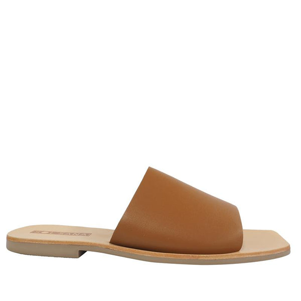 Mila Slide Tan