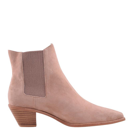 Roger Boot Stone Suede