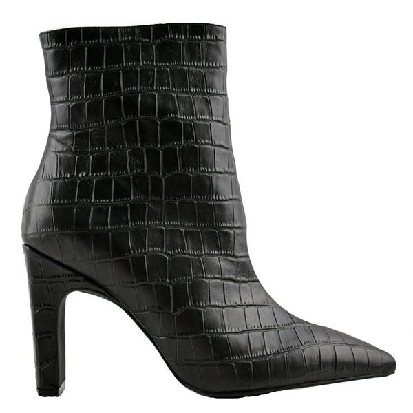 Scottie Boot Black Crocodile