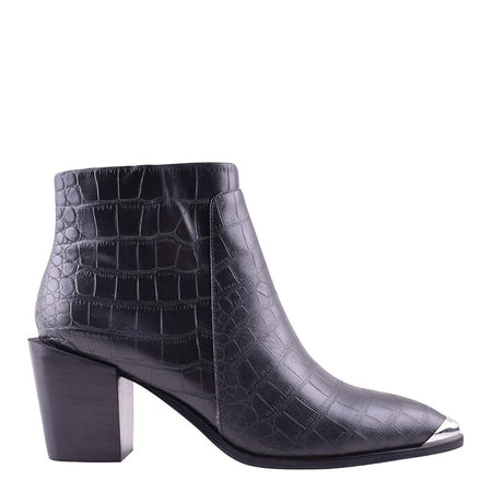 Sammy Boot Black Croc