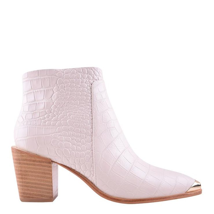 Sammy Boot Ivory Croc