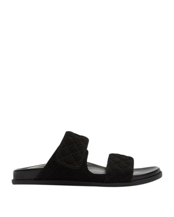 Nate Wedge Black Suede