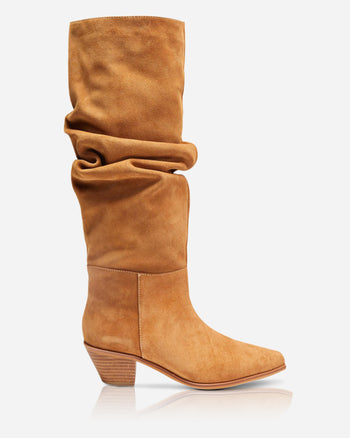 Tyler Boot Toffee Suede