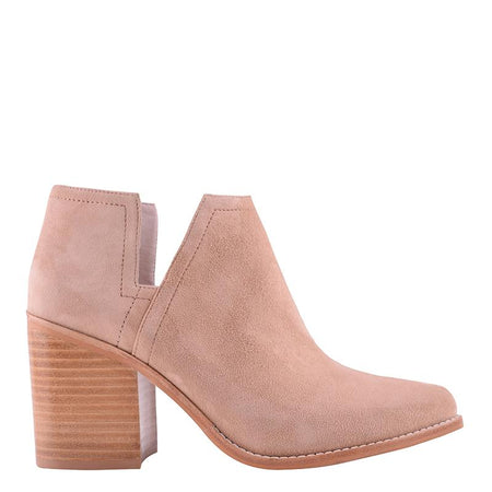Stuart Boot Stone Suede