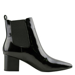 Teddy Gloss Black Boots