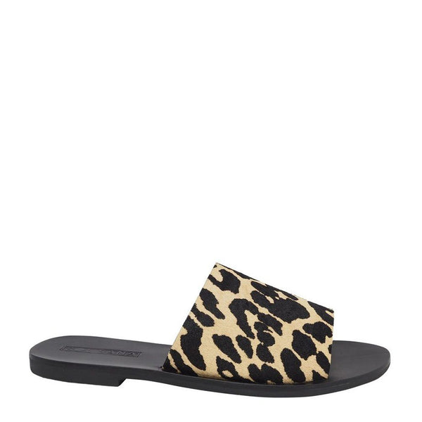 Teresa Stretch Leopard Slides