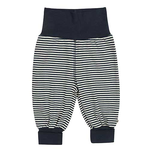 Müsli - Stripe pants (navy/hvid stribet)