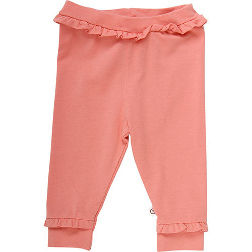 Müsli - Cozy me frill pants (Dark peach)