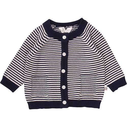 Müsli - Strik cardigan (navy)