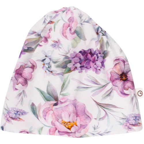 Müsli - Spicy Flower beanie (blomsterprint)