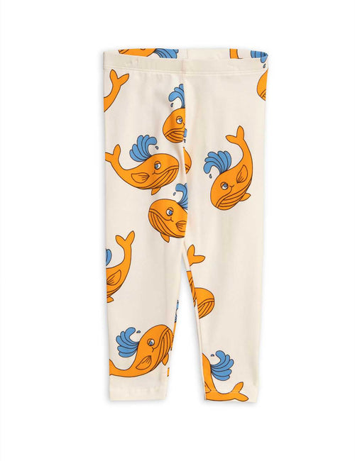 Mini Rodini Whale aop leggings