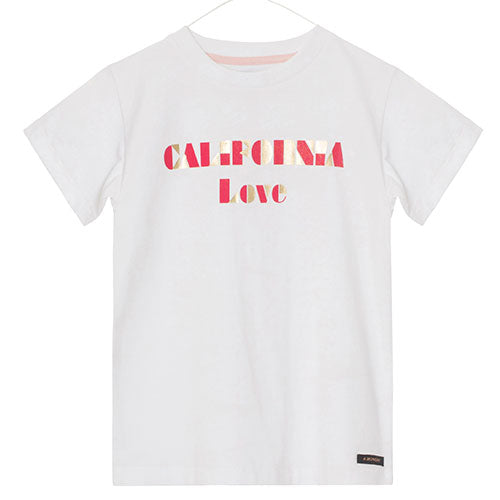 A Monday - California T-shirt (white)