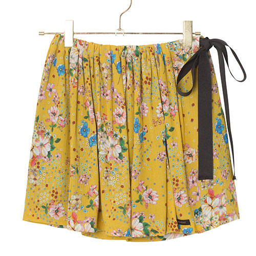 A Monday - Flora Skirt (Flower Minion Yellow)