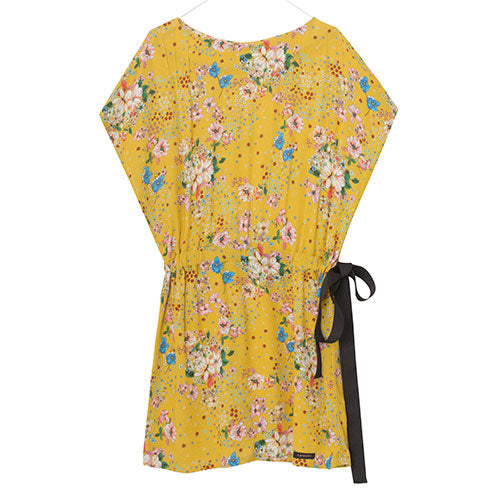 A Monday - Louisa Dress (Flower Minion Yellow)