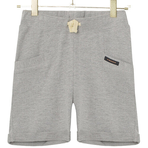 A Monday - Bailey Shorts (Light Grey Melange)