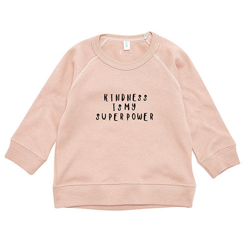 Organic Zoo - Sweatshirt Kindness (clay)