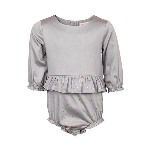 Elodiee - Frigg romper (grey gold star)