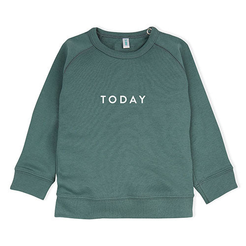 Organic Zoo - Sweatshirt Today (Grøn)