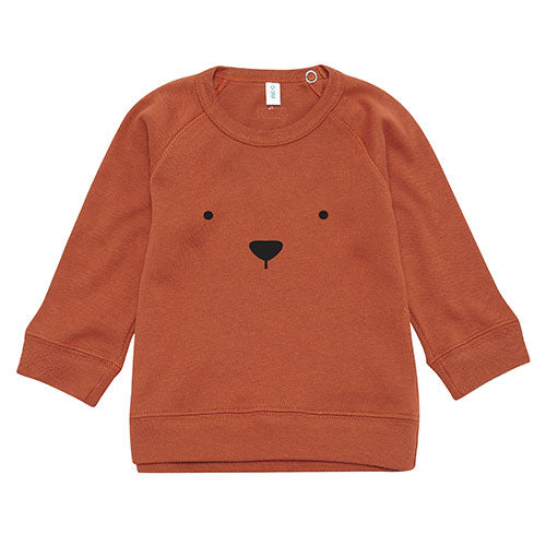 Organic Zoo - Sweatshirt Bear (rust)