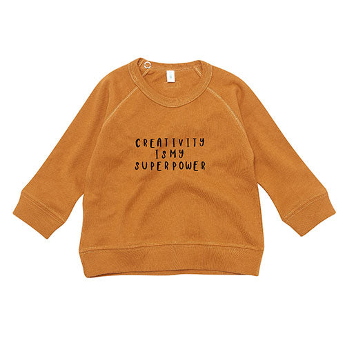 Organic Zoo - Sweatshirt Creativity (spice)